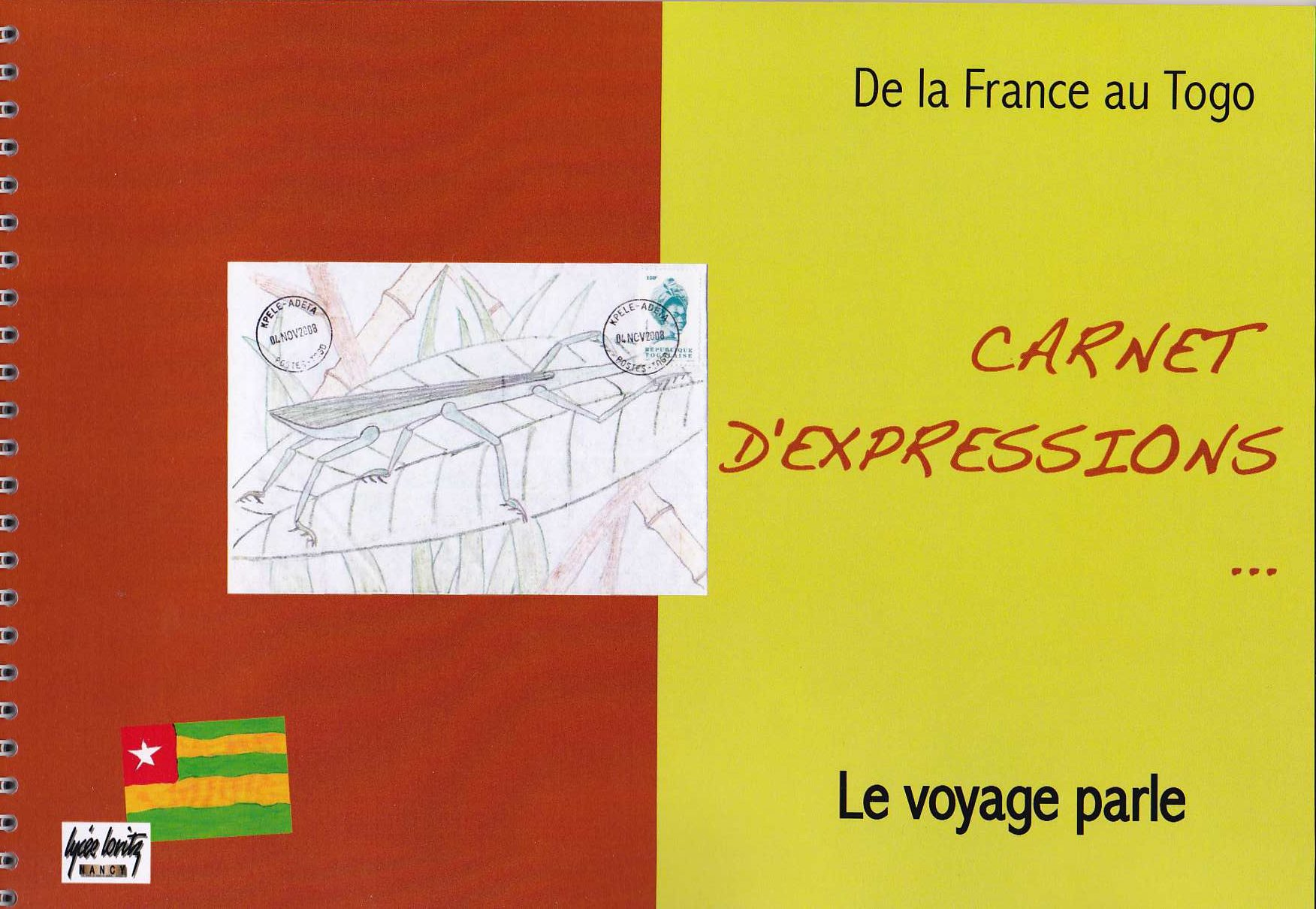 Carnet d`expression